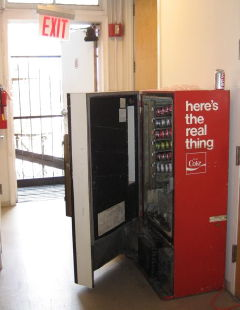 soda machine at Pando